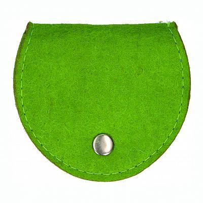 Rosenkranztäschchen Filz, grün (Grün)