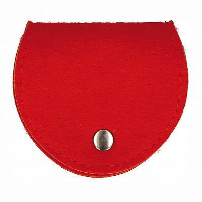 Rosenkranztäschchen Filz, rot (Rot)