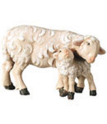 Schaf mit Lamm (Betlehem Krippe)