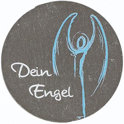 Schieferplakette Schutzengel 'Dein Engel'