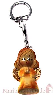 Schlüsselanhänger betender Engel, orange (Orange)