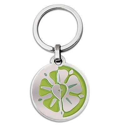Schlüsselanhänger Lutherrose, grün (Grün)