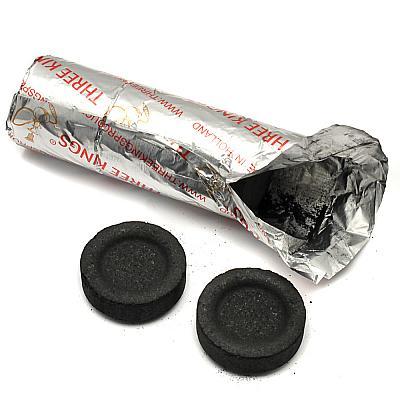Schnellzünder Kohle (10 Stück, 3,3 cm)