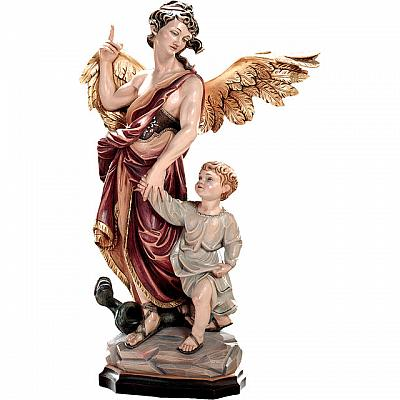 Schutzengel Raphael, Holz