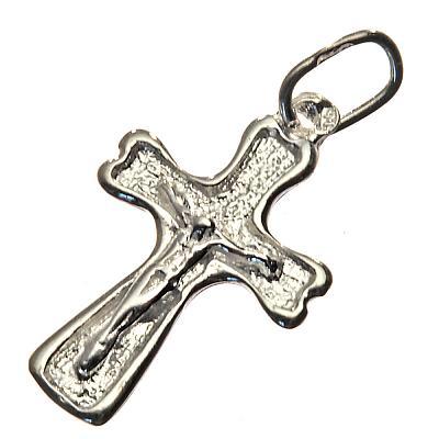 Silberkreuz rund 1,6 cm