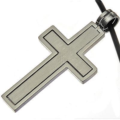 Stahlkreuz mit Band