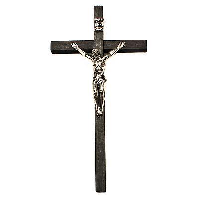 Sterbekreuz Holz schwarz (Schwarz)
