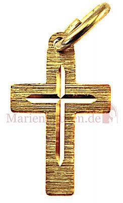 Taufkreuz Gold