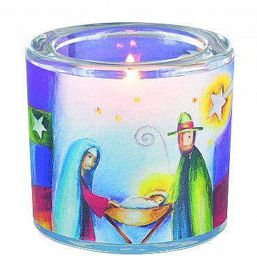 Windlicht 'Heilige Familie - Weihnachten'