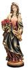Heilige Elisabeth, Holz (coloriert)